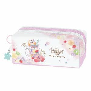 星のカービィ ツインファスナーペンケース【アイスクリーム/フルーツ】Kirby SHINY POP