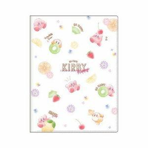 星のカービィ 10ポケットクリアファイル【フルーツ】Kirby SHINY POP