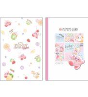 星のカービィ B5クラフトクロスノート【アイスクリーム/フルーツ】Kirby SHINY POP
