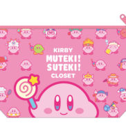 星のカービィ ポーチ【ピンク / ブルー】KIRBY MUTEKI! SUTEKI! CLOSET