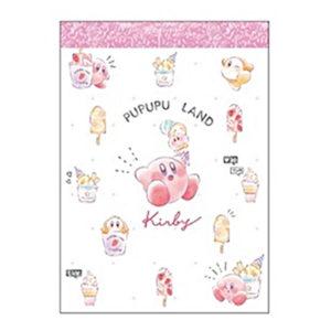 星のカービィ ミニメモ【アイスクリーム/フルーツ】Kirby SHINY POP__